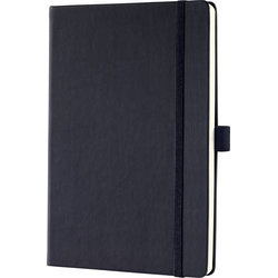 Sigel CONCEPTUM® CO109 Notizbuch Dot-Lineatur (punktkariert) Schwarz Anzahl der Blätter: 97 DIN A5
