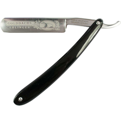 Golddachs Rasiermesser  schwarz