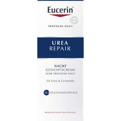 EUCERIN UreaRepair Gesichtscreme 5% Nacht 50 ml