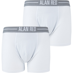 Alan Red Boxershorts Weiß 2er-Pack - Weiß Größe XXL