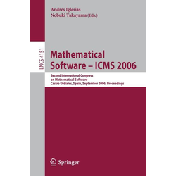 Mathematical Software - ICMS 2006