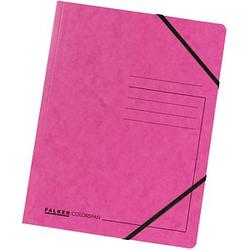 25 FALKEN Eckspanner   DIN A4 pink