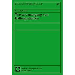 Wasserversorgung von Ballungsräumen - Buch