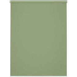 Seitenzugrollo Comfort Move Rollo, GARDINIA, Lichtschutz, ohne Bohren, freihängend, ohne Bedienkette grün 100 cm x 150 cm
