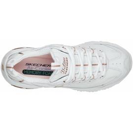 SKECHERS D'Lites - Fresh Start white/rose gold 36