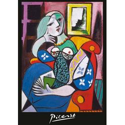 Piatnik Puzzle Picasso, Frau mit Buch, 1000 Puzzleteile