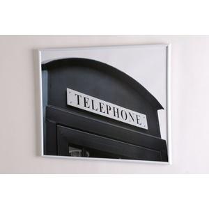Bilderrahmen DEZENT 40x50 cm Kunststoff weiß TAWO LIVIN N-437-17_40x50_weiß (BHT 41x51x1,5 cm) tawo living & decoration