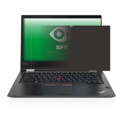 upscreen Schutzfolie für Lenovo ThinkPad Yoga X380, Folie Schutzfolie Sichtschutz klar anti-spy weiß