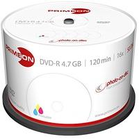 PrimeOn DVD-R 50 Stück(e)
