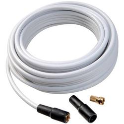 Vivanco 44063 Koaxialkabel 75Ω 110 dB Weiß 1 Set