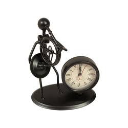 Gewa Skulptur mit Uhr - Waldhorn