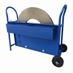 Stahlbandabroller für Stahlbandbreiten bis 20 mm