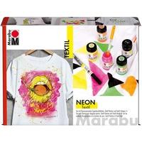 Marabu Textil Neon Set 6 St.