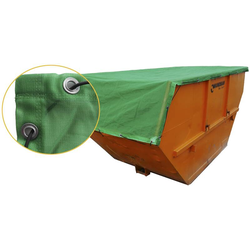 Container-Bändchengewebe, grün (220G/M²) 2x3 Meter