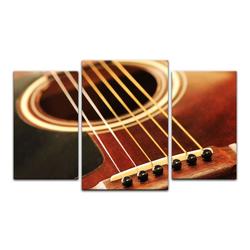 Bilderdepot24 Leinwandbild, Leinwandbild - Gitarre 100 cm x 60 cm