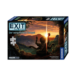 Kosmos Puzzle EXIT - Das Spiel + Puzzle - Der verschollene, Puzzleteile