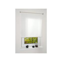 LIEDECO Mittelzugrollo, Springrollo Uni, Fb. weiß BxH 82x180 cm