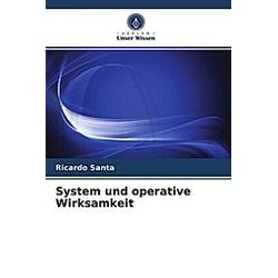 System und operative Wirksamkeit. Ricardo Santa  - Buch