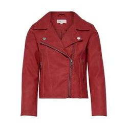 ONLY Biker Kunstlederjacke Damen Rot Female 146