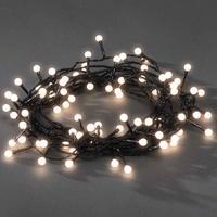 """Konstsmide LED-Lichterkette, """"Rund"""", 80 Dioden, warmweiß,"""