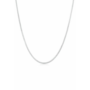 Halskette Panzerkette Basic Chunky Chain 925 Silber Elli Silber - 001