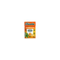 RICOLA Orangenminze Bonbons Box ohne Zucker 50 g