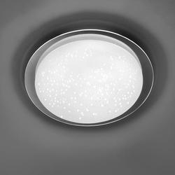 Skyler LED Deckenleuchte 1x 18W 3000-6000K Chrom