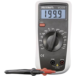 VOLTCRAFT VC135 Hand-Multimeter kalibriert (ISO) digital CAT III 600V Anzeige (Counts): 2000
