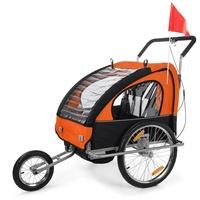 SAMAX 2in1 Jogger Silver Frame orange/schwarz