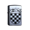 elbedruck elbedruck Tischfeuer Zippo Kroatien Benzinfeuerzeug mit Lasergravur kroatisches Wappen Hrvatske Sturmfeuerzeug aus den USA