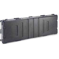 Standard ABS-Koffer für Keyboard, m. Rollen