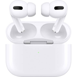 Apple AirPods Pro + Wireless Charging Case Bluetooth® In Ear Kopfhörer In Ear Weiß