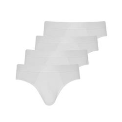 Jockey Slip 4er Pack Microfiber Air Slip Brief Slip weiß 3XL