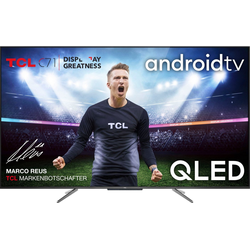 TCL 65C715 QLED-Fernseher (164 cm/65 Zoll, 4K Ultra HD, Android TV)