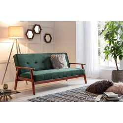 SalesFever Schlafsofa, mit Relaxfunktion grün