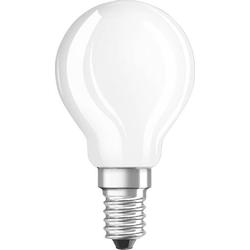 Osram LED EEK A+ (A++ - E) E14 Tropfenform 5W = 40W Warmweiß (Ø x L) 45mm x 78mm 1St.