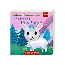 Das ist das kleine Einhorn!  m. Fingerpuppe - Buch