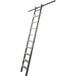 STABILO Stufenregal.einhän.Alu 12 Stu. 1