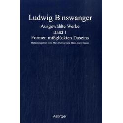 Ausgewählte Werke 4 Bde. als Buch von Ludwig Binswanger
