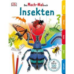 Das Mach-Malbuch Insekten