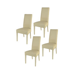 T M C S - Chaises Made in Italy Tommychairs - Set 4 chaises GLORY pour cuisine et salle à manger,