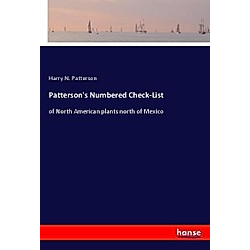 Patterson's Numbered Check-List. Harry N. Patterson  - Buch