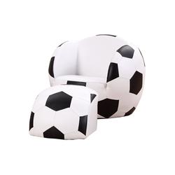 HOMCOM Sessel Kindersofa als Fußball