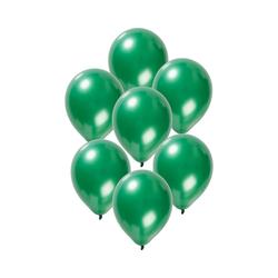 Folat Luftballon Luftballons metallic rot 30 cm, 50 Stück grün