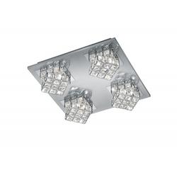 Deckenspot LED GRANDEUR 4-flg.(BT 35x35 cm) TRIO-Leuchten