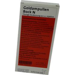 GOLDAMPULLEN Bock N Ampullen 10 St