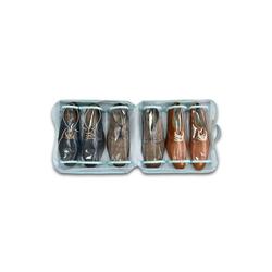 HTI-Living Aufbewahrungsbox Koffer Organizer für Schuhe (1 Stück), Schuhaufbewahrung