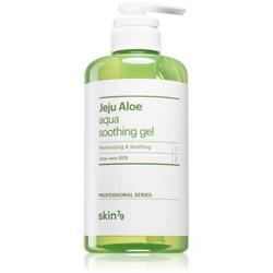 Skin79 Jeju Aloe feuchtigkeitsspendende und beruhigende Creme mit Aloe Vera 500 ml