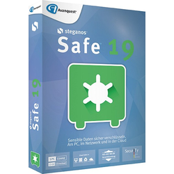 Steganos Safe 19, 5 PC, BOX mit CD