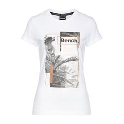 Bench. Print-Shirt ACACIA weiß XS